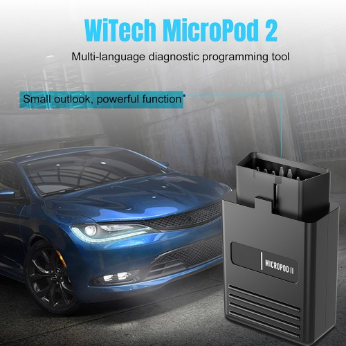 Wifi V17.04.27 wiTech MicroPod 2 Diagnostic Tool for Chrysler Dodge Jeep Fiat Online Version Supports Car till 2018