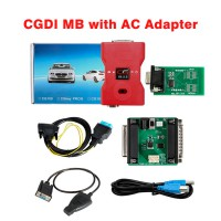 [UK Ship]CGDI MB Key Programmer with AC Adapter Work with Mercedes W164 W204 W221 W209 W246 W251 W166 for Data Acquisition via OBD