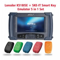 Lonsdor K518ISE Programmer Plus SKE-IT Smart Key Emulator 5 in 1 Set Full Package