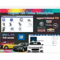 One Year Original GM Online Programming Subscription for GM MDI Tech2 VCM II