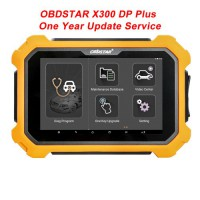 OBDSTAR X300 DP Plus C Version Full Package One Year Update Service