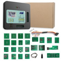 Latest Version Xprog V6.12 XPROG-M ECU Programmer With USB Dongle with Probes adapters for in-circuit