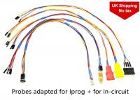 [UK Ship]Probes Adapters for in-circuit ECU Work with Iprog+ Programmer and Xprog