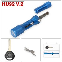 [UK Ship] NP Tools 2 in 1 HU92 V.2 Professional Locksmith Tool for Audi VW HU92 Lock Pick and Decoder Quick Open Tool