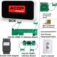 Yanhua Mini ACDP Module12 Volvo IMMO Programming Support Add Key and All Key Lost