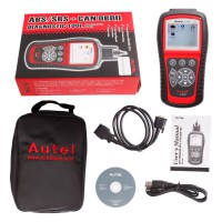 [UK Ship]Original AutoLink AL619 ABS SRS OBDII Diagnostic Tool Multi-language Update Online