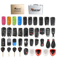 [Best Price][UK Ship]Xhorse Universal Remotes Keys 39pcs/set