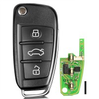 [UK Ship]Xhorse XKA600EN Audi A6L Q7 Intelligent Folding Remote Control Key 5pcs/lot