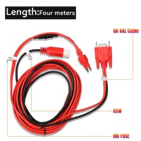 Autel Toyota 8A Non-smart Key Cable for All Key Lost No Disassembly work with Autel Gbox2 and APB112