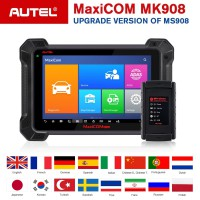 [UK/EU Ship] Original Autel MaxiCOM MK908 Automotive All System Diagnostic Tool Support ECU Coding (Updated Version of Maxisys MS908)