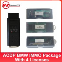 [UK Ship]Yanhua Mini ACDP BMW CAS1-CAS4+/FEM/BDC+ISN Read for BMW Key Programming& Mileage Correction