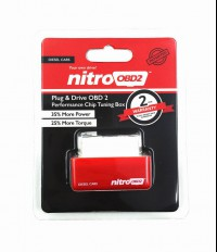 Plug and Drive NitroOBD2 Performance Chip Tuning Box for Diesel Cars with 2 Year Warranty