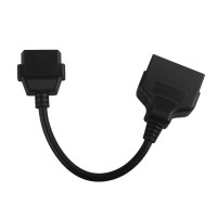 Cheap Toyota 22pin to 16pin OBD1 to OBD2 Connect Cable for Converting Connection