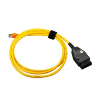BMW ENET (Ethernet to OBD) Interface Cable E-SYS ICOM Coding F-Series without software dvd
