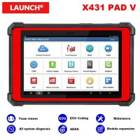 [Best Price]Launch X431 PAD V PAD5 with SmartBox 3.0 Diagnostic Tool Support Online Coding And Programming with 2 Years Free Update Online
