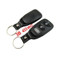 3 Button Remote Key 433MHZ Free Shipping for Hyundai
