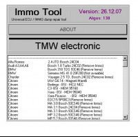 IMMO Tool V26.12.2007 New version