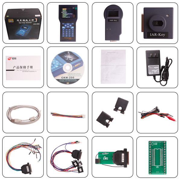 Car Key Master Handset CKM200 Package List 1