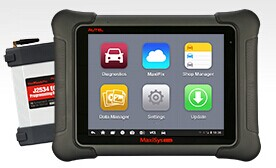 Original Autel MaxiSys Elite OBD Diagnostic Scanner Full System Wifi Bluetooth with J2534 ECU Programming Two Years Free Update
